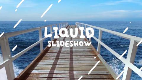 Liquid Colorful Slideshow Premiere Pro Template