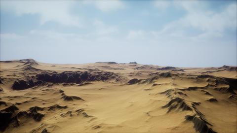 desert storm in sand desert ビデオ