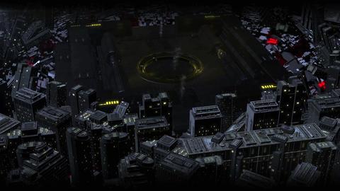Yellow Sci Fi High Tech Dark City Logo (prerender) After Effectsテンプレート