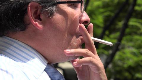 Man Lighting a Cigarette Live Action