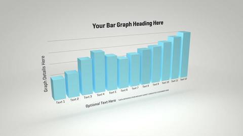 3d Bar Graph 3D Model