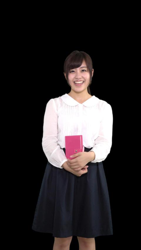 ビジネス手帳を持つ女性4 ビデオ