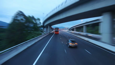 Country Highway in Hong Kong Footage