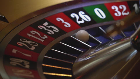 Gambling Roulette - 3 red wins - close up shot Live Action