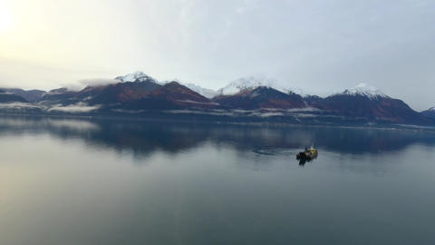 Commercial fishing in Alaska Live Action
