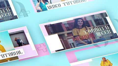 Slik Fashion After Effects Template