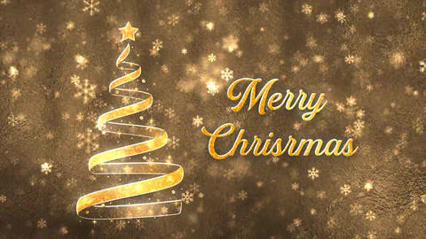 Christmas Wishes After Effects Template