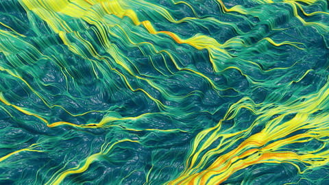 Abstract rippled alien surface ビデオ