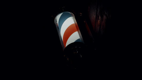 barber symbol in barbershop ビデオ