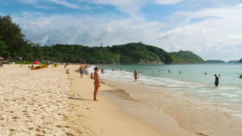 Nai Harn beach, south of Phuket Island GIF