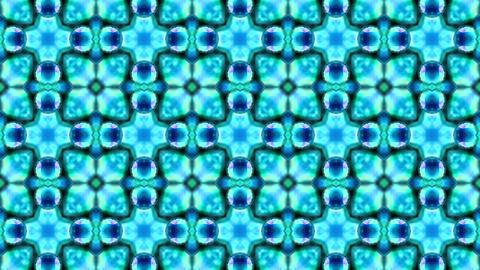 Organic Textured Kaleidoscope 02 Videos animados
