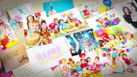 Happy Birthday slideshow After Effects Template