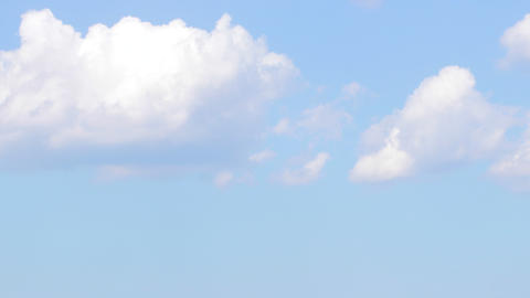 Blue sky with clouds background.Sky clouds.Sky with clouds weather Footage