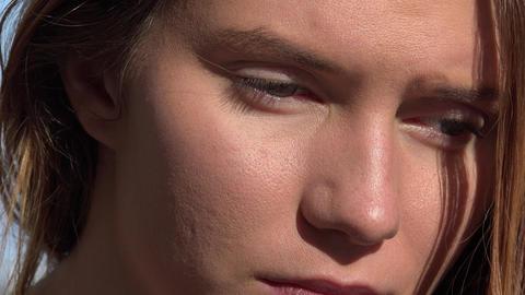 Sad or Depressed Woman Footage
