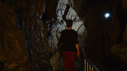 Cave formation Footage