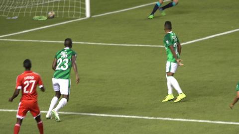 Soccer Kick on Goal Footage