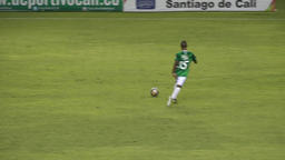 Soccer Players Playing Soccer Footage
