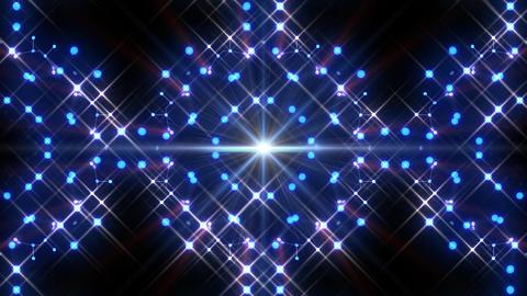 Kaleidoscope illumination neon Av3 blue1 4k Animation