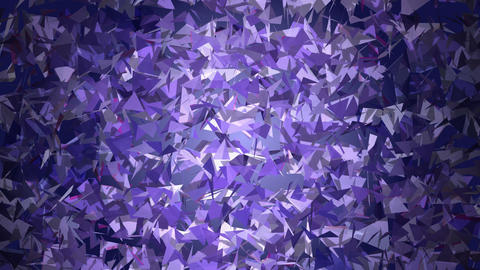 Blue Triangles Simple Background Animation