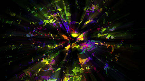 Disco Triangle Glass BG v1 Animation