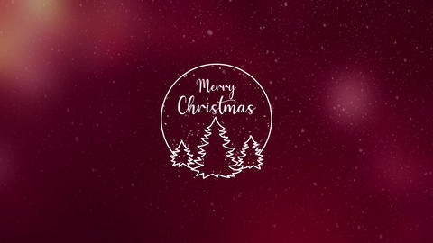 Christmas Wreath Titles Motion Graphics Template