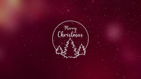 Christmas Wreath Titles モーショングラフィックステンプレート