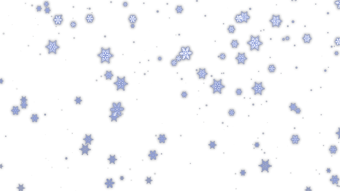 Magic snow (loopable, alpha) Animation