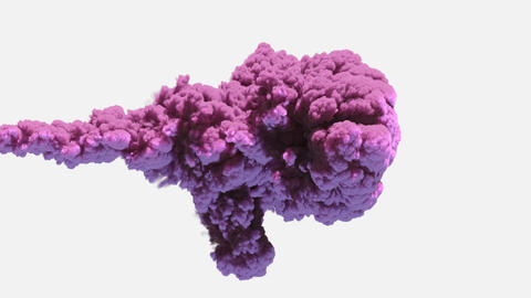 Puffy Purple Smoke Animation