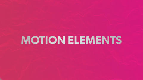 The title text introduction animation which is Shin pull [depending on a color for fashion]! After Effects Template