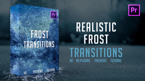 Frost Transitions Premiere Pro Template