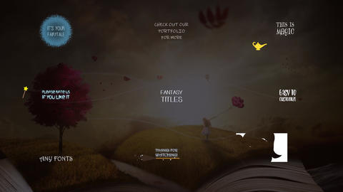 Fantasy Titles Collection After Effects Template
