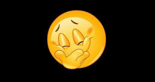 Hiding smile emoticon animation Animation