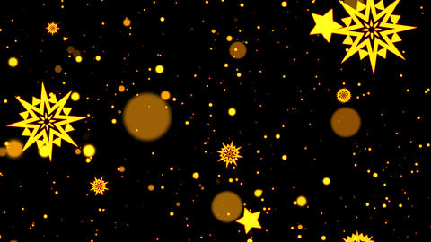 Beautiful Christmas themed background with particles. Perfect for Christmas party invitations Videos animados