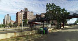 Riding Bicycle Near Alphabet City Neighborhood in Manhattan Footage