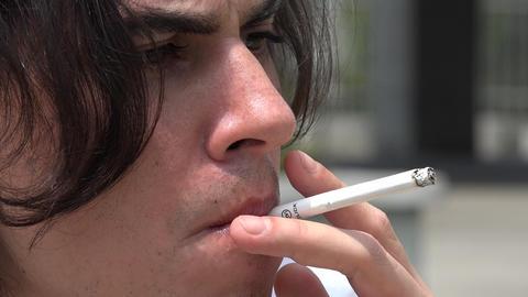 Smoking, Cigarettes, Cigars Footage