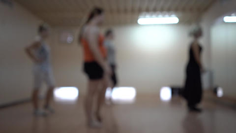 Dance Aerobics Footage