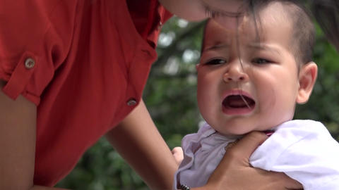 Baby Crying Footage