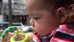 Baby With Toys, Infant Toys, Newborn Playing Footage