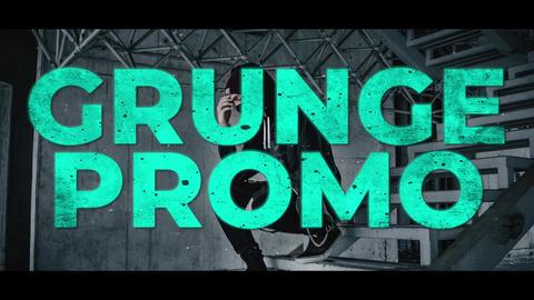 Grunge Neon Promo Premiere Proテンプレート
