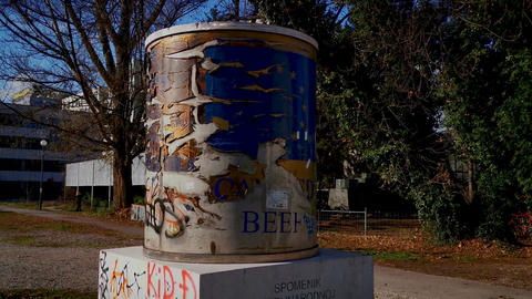 The ICAR Canned Beef Monument Live Action