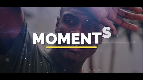 Moments Apple Motion Template
