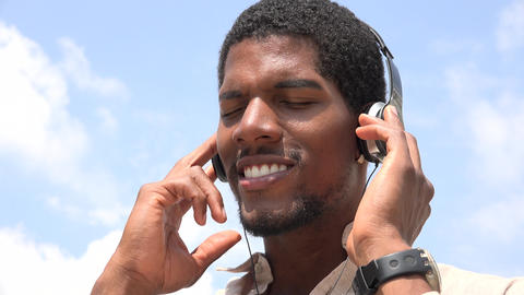 Listening to Music, Headphones, Headsets Live Action