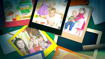 Polaroid School Slideshow After Effects Projekt