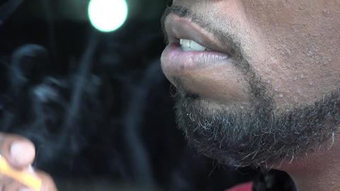 Smoker, Cigarettes, Nicotine, Tobacco Footage