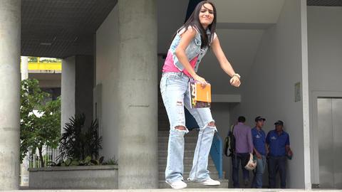 Student Dancing, Teens, Education Footage