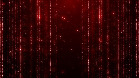 Particles dust bokeh abstract light motion titles cinematic background loop Animation
