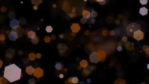 Mov203 particle hexagon glitter loop 06 CG動画