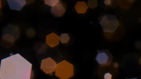 Mov203 particle hexagon glitter loop 08 CG動画