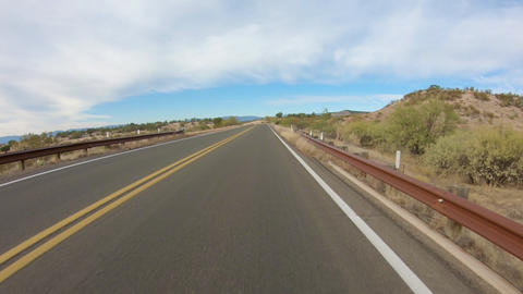 Driving in the High Desert Time Lapse Live Action