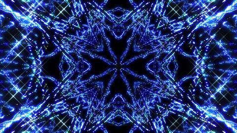 Kaleidoscope illumination neon light E3 4k Videos animados